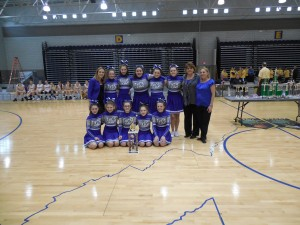 Teays Valley Christian Middle School Cheerling Champs